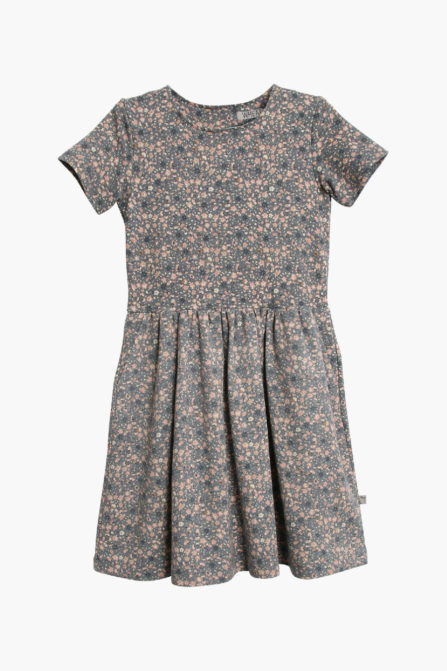 Wheat Augusta Girls Dress