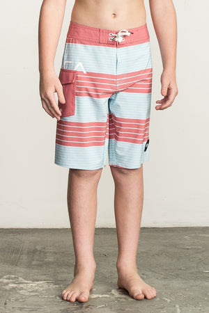 RVCA Uncivil Stripe Swim Trunk