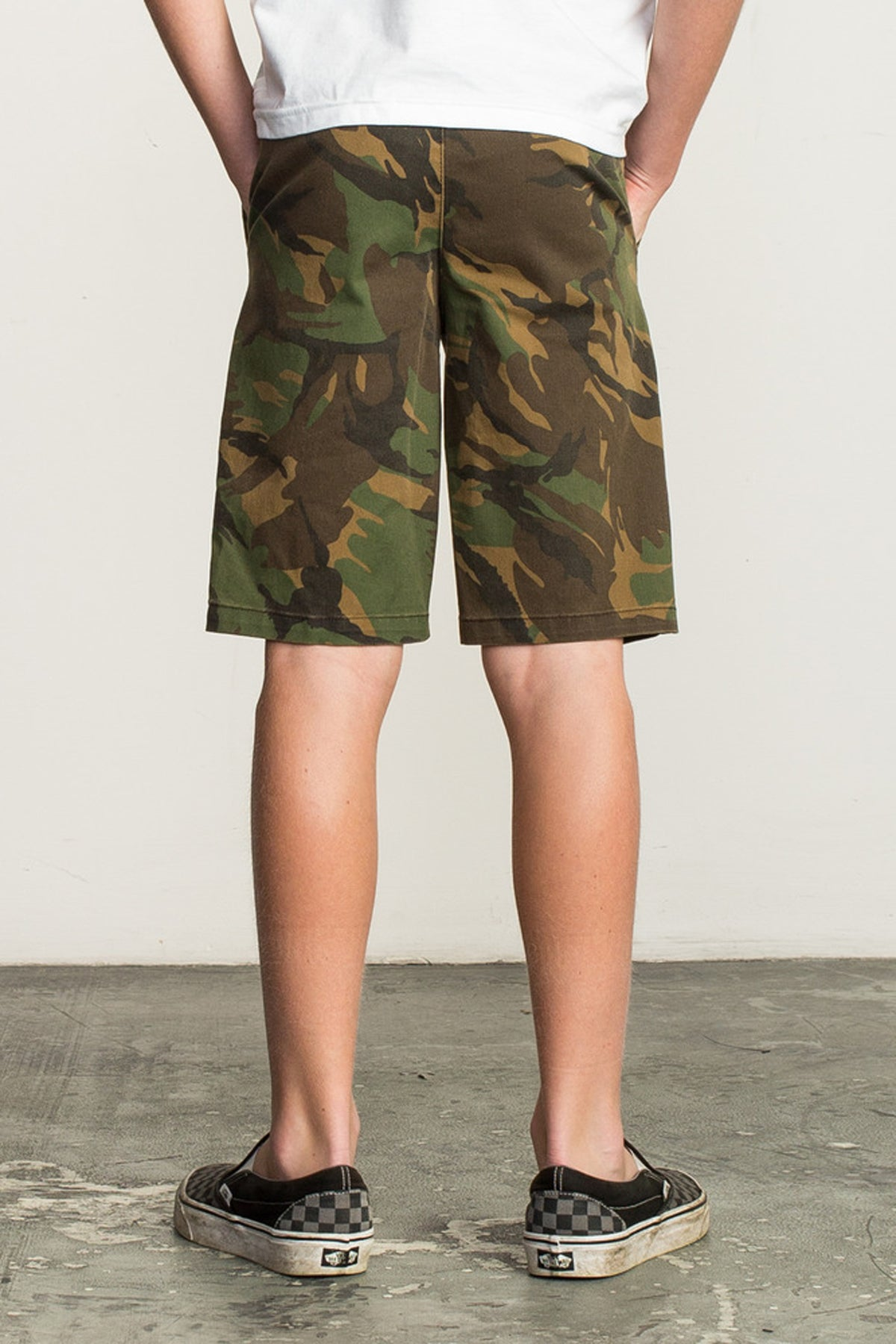 RVCA Weekday Stretch Camo Short