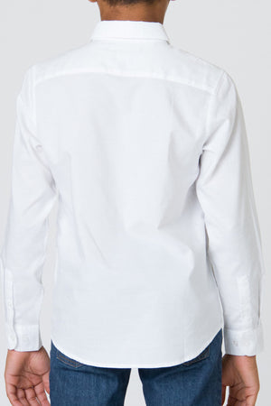 RVCA That'll Do Oxford Longsleeve - White