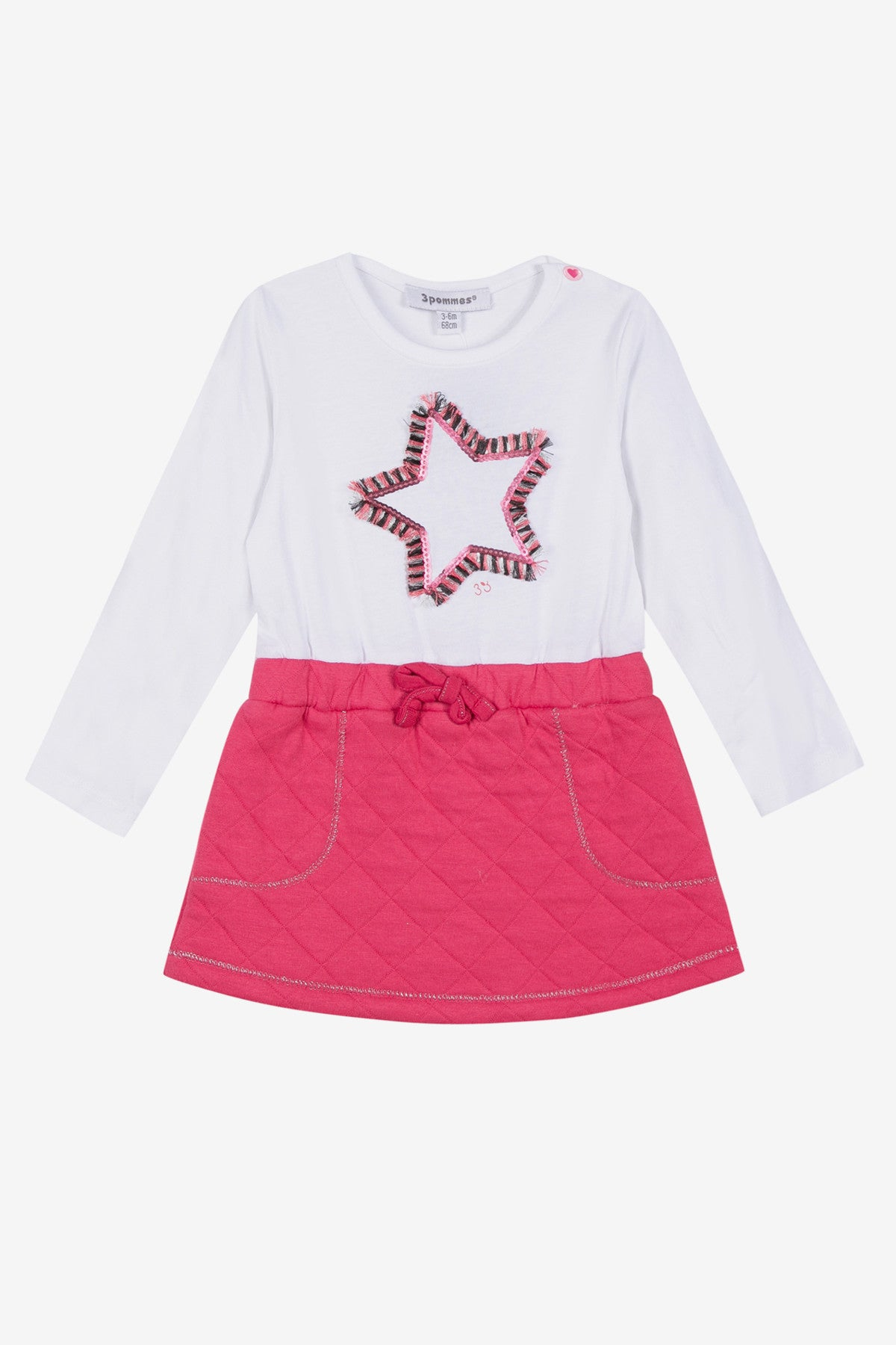 3pommes Star Girls Dress