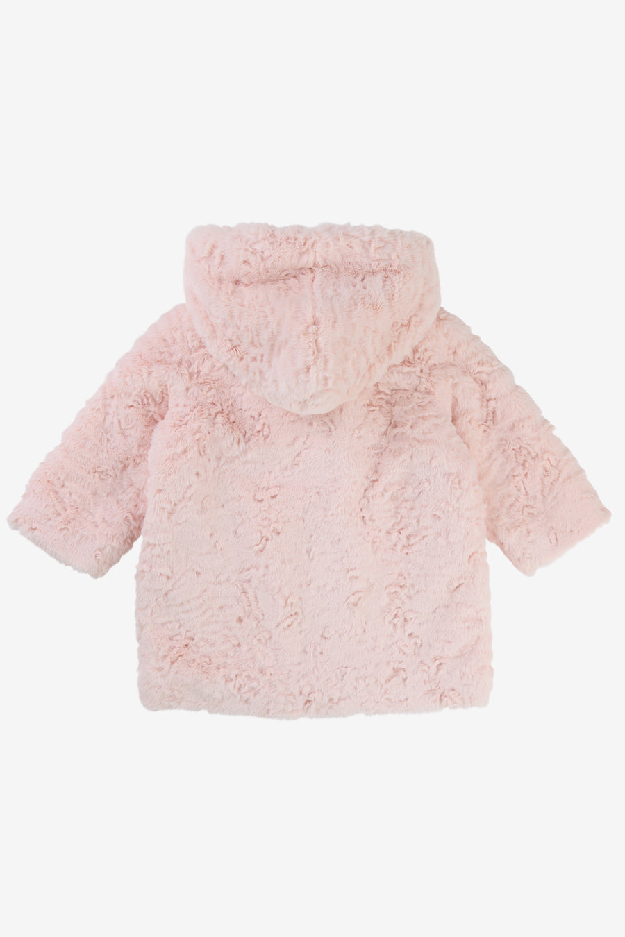 Billieblush Hooded Faux Fur Coat