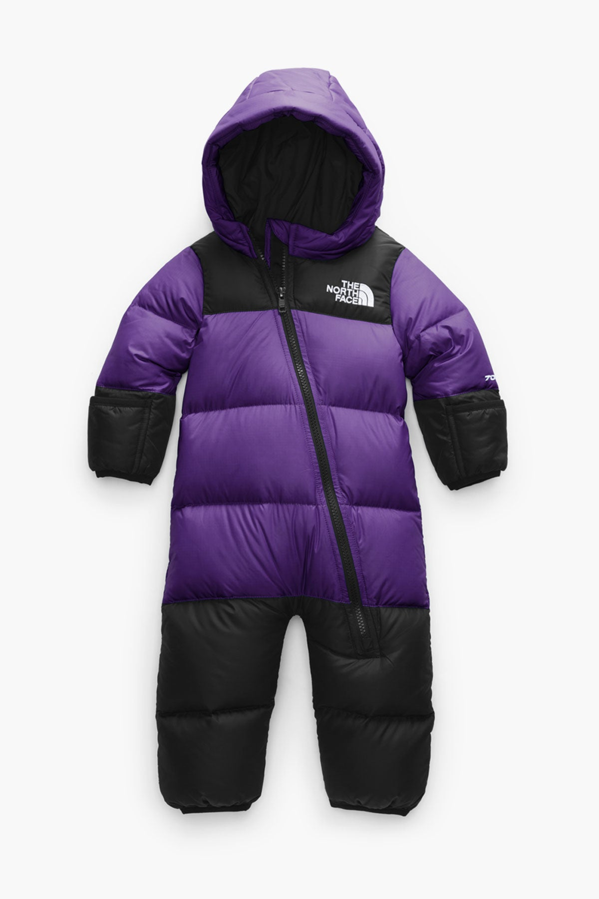The North Face  Baby Infant Nuptse One Piece - Peak Purple