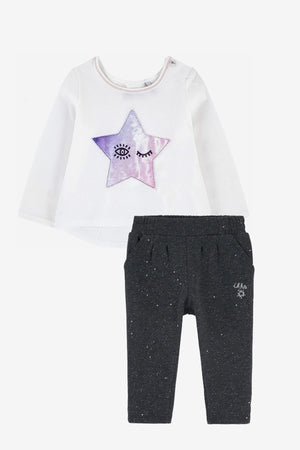 IKKS Winking Star Baby Girls Set (Size 2 left)