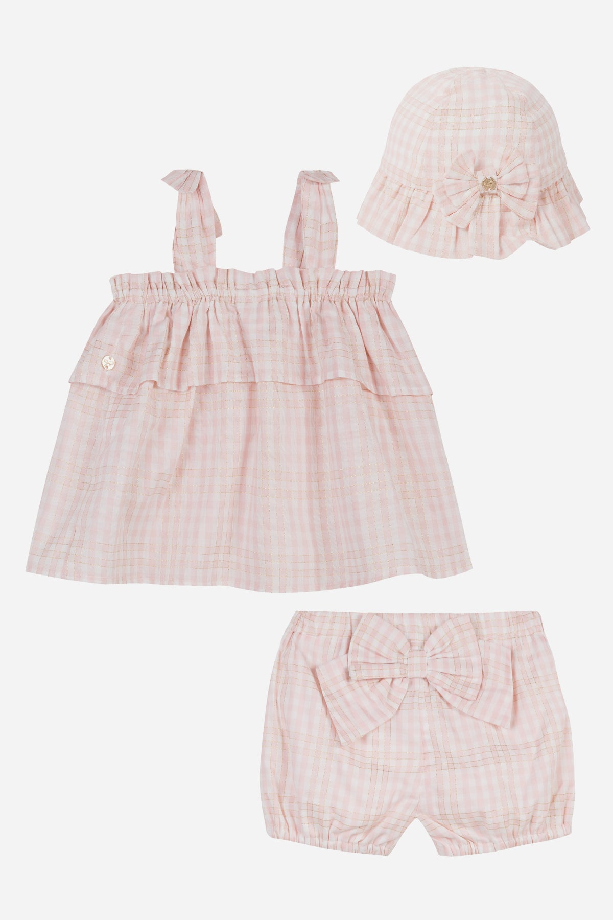 abdeb0463 Lili Gaufrette Baby Girls 3-Piece Set - Mini Ruby