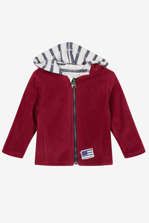 3pommes Baby Boy Reversible Jacket (Size 9/12M left)