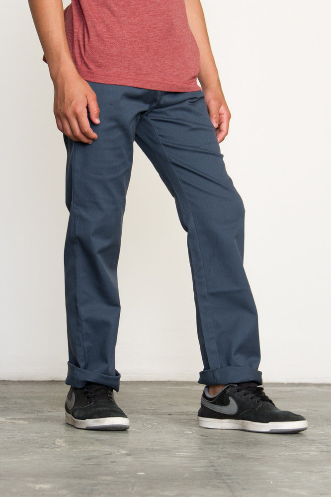 the best attitude 003d0 45ef6 RVCA Weekday Pants - Midnight - Mini Ruby