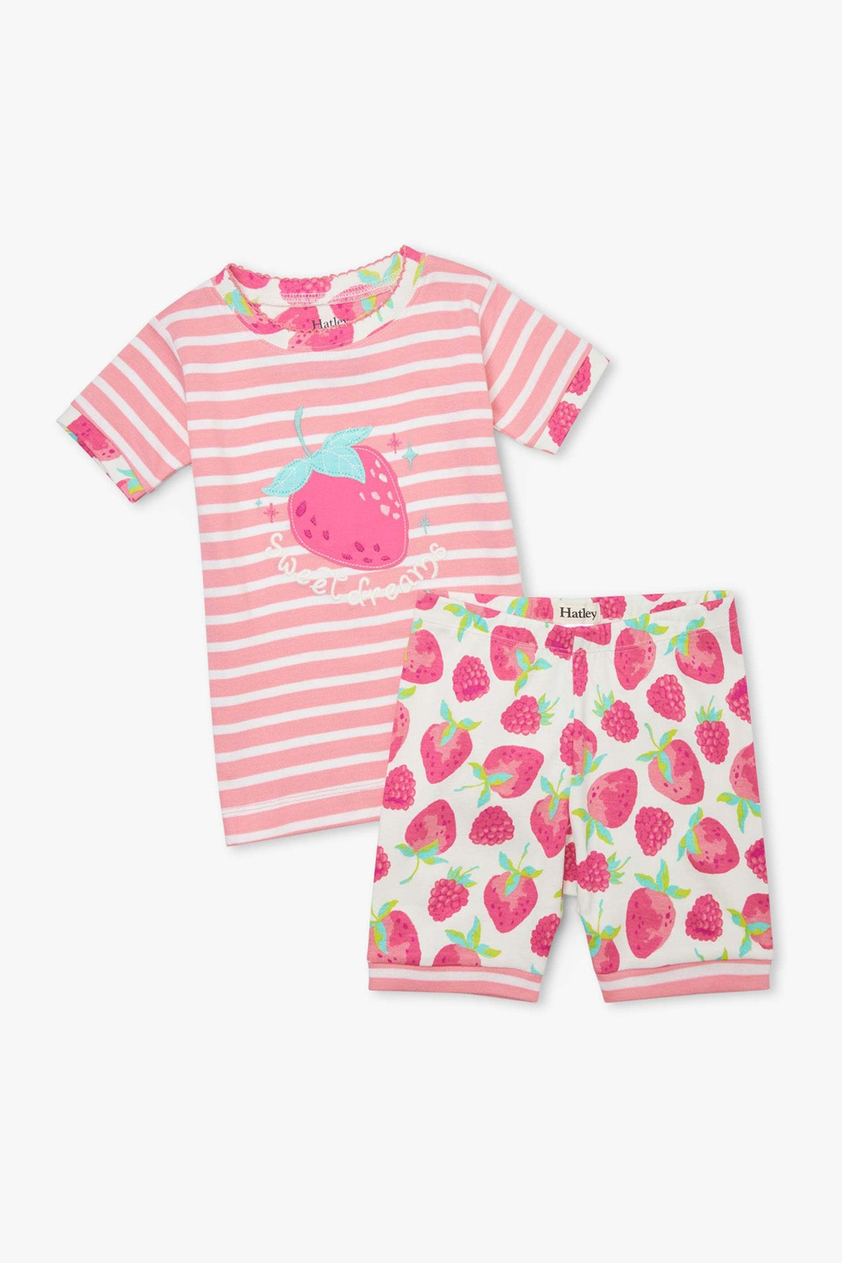 Hatley Berries Girls Pajama Set