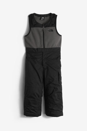The North Face Insulated Bib Kids Snowpants - Black