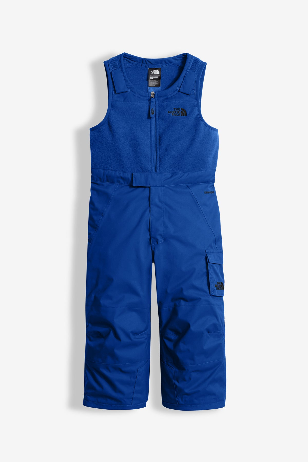The North Face Insulated Bib Snowpant - Bright Cobalt Blue