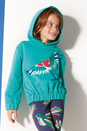 Catimini Bird Girls Sweatshirt