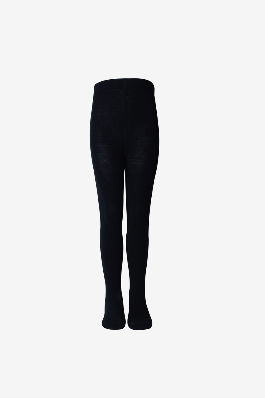 Girls Premium Wool Tights - Black