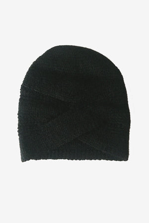 Autumn Cashmere Black Hat