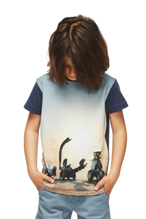 Molo Ragnij Black Rock Desert Boys T-Shirt (Size 2 left)