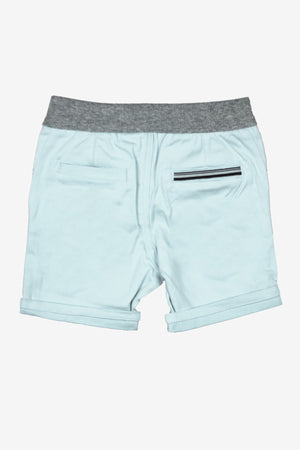 IKKS Ocean Blue Baby Boys Shorts (Size 12M left)