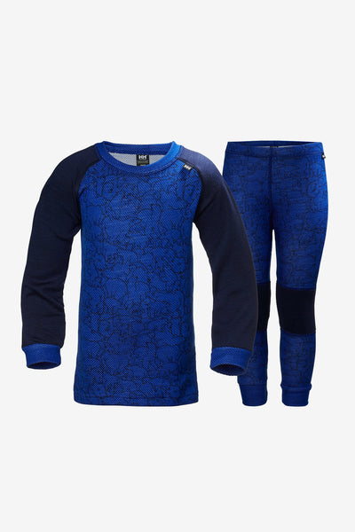 Helly Hansen Base Layer Set - Olympian Blue