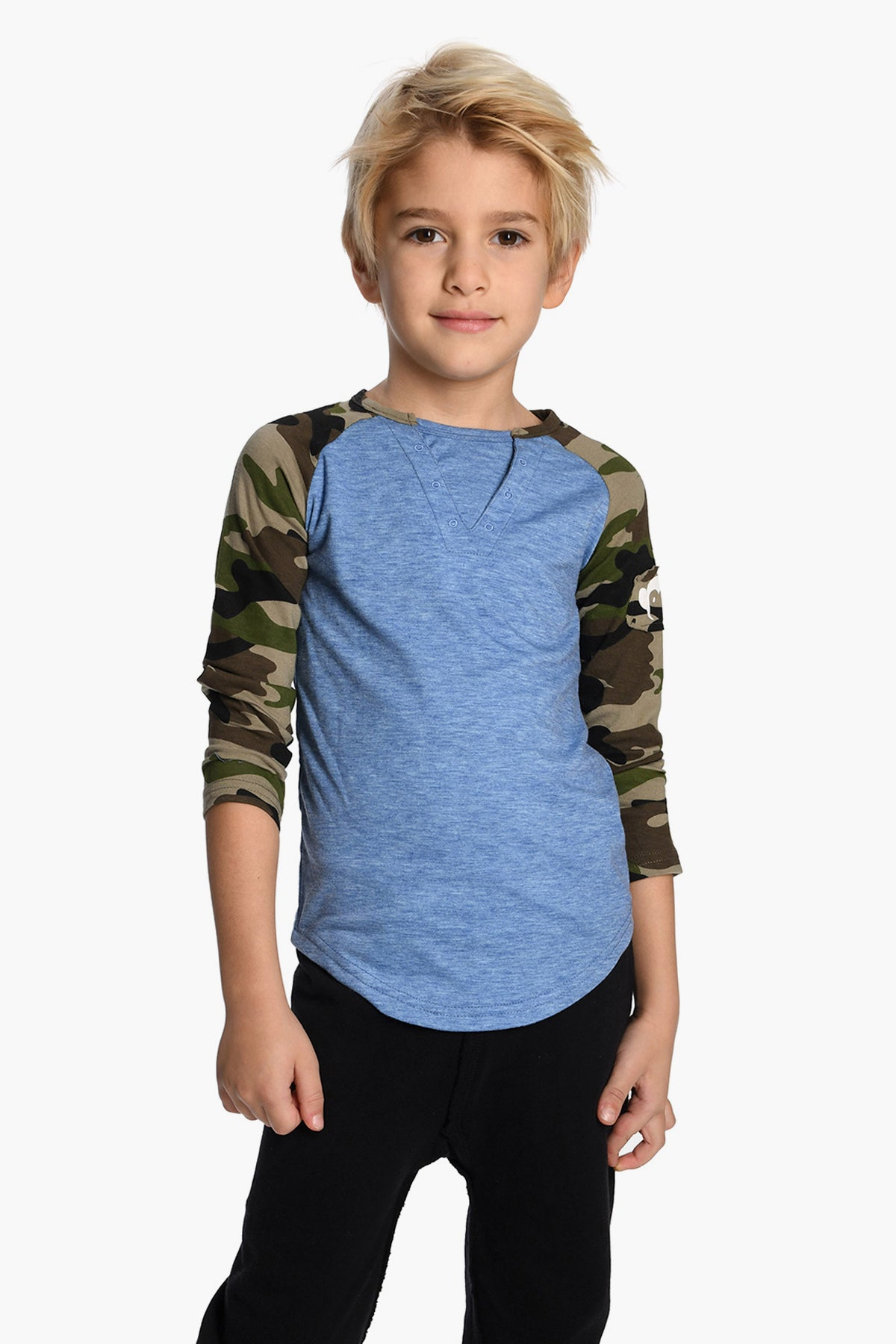 Appaman Blue Baseball Boys Shirt