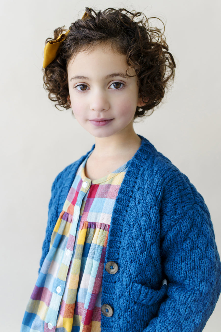 Lali Kids Blue Bubble Cardigan