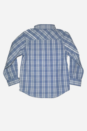 Wheat Blue Checkered Shirt