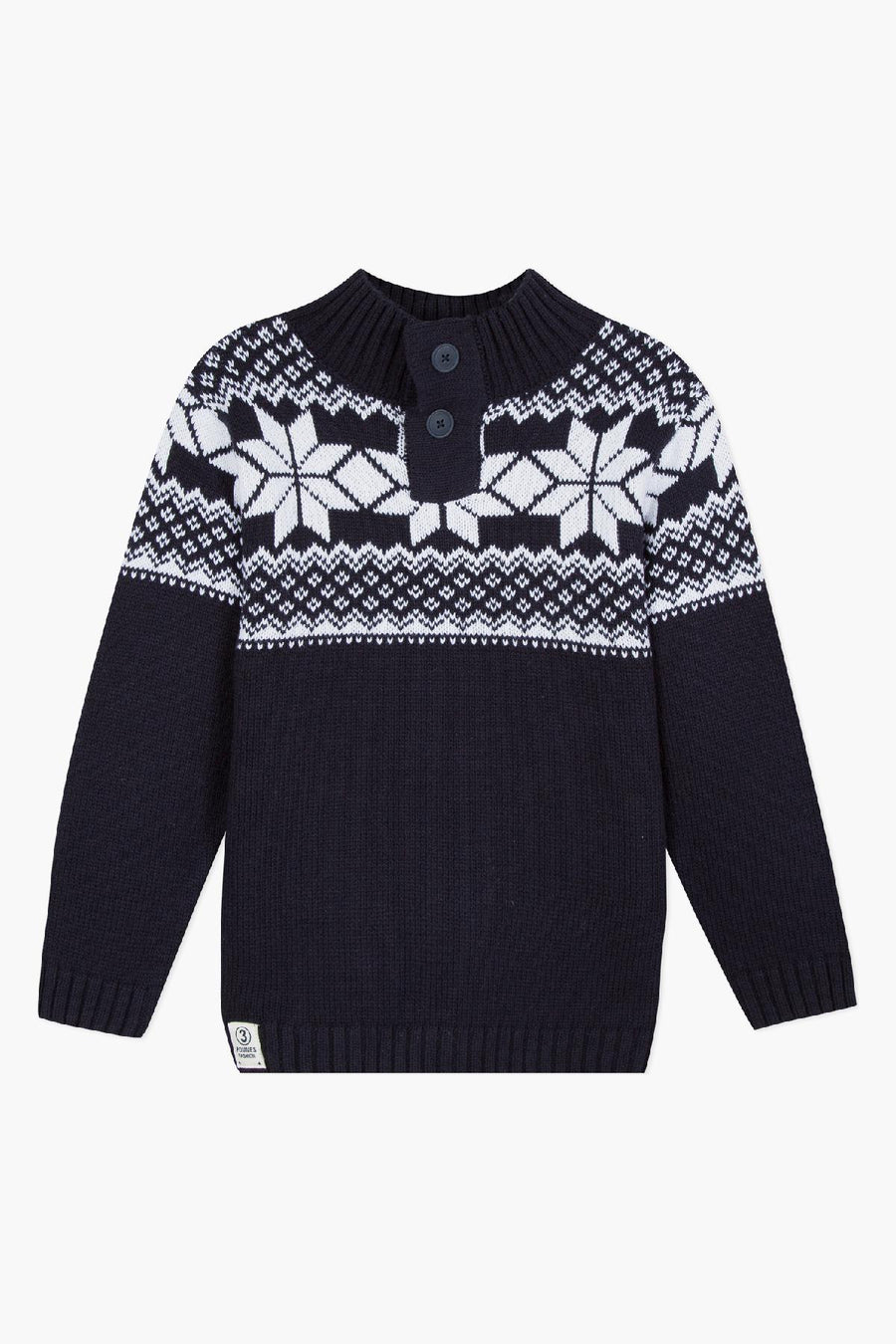3pommes Blue Mountain Sweater