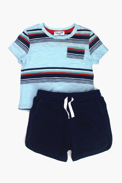 Splendid Bright Stripe Boys 2-Piece Set