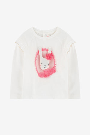 Billieblush Bunny Baby Girls Top