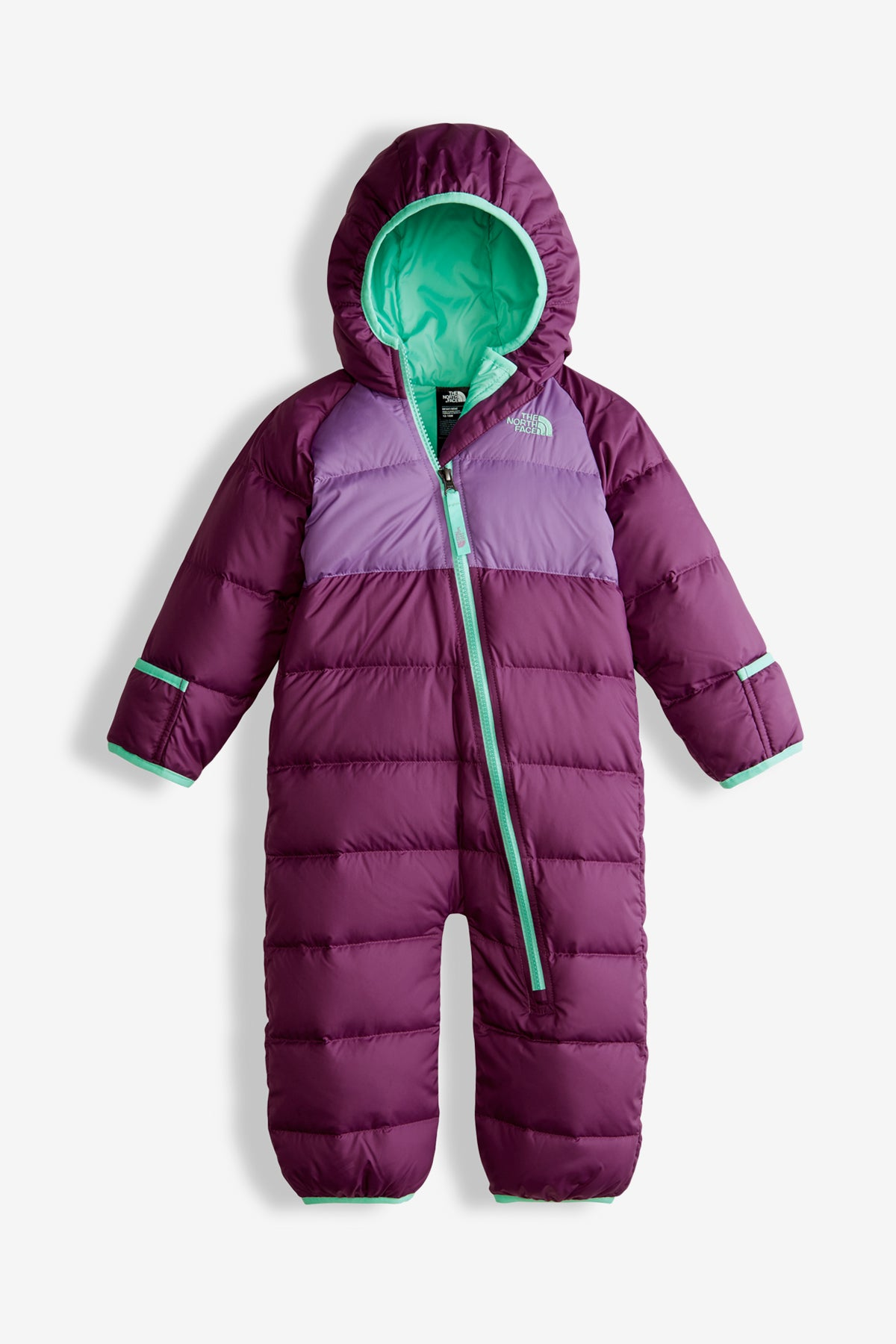 8b7f19affe82 The North Face Infant Lil  Snuggler Down Suit - Wood Violet - Mini Ruby