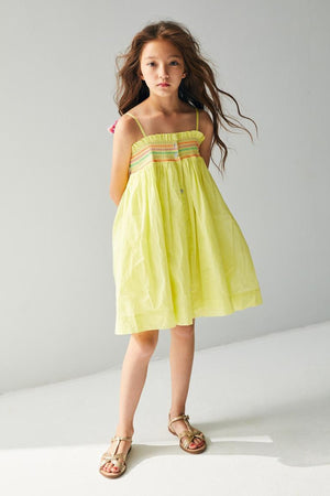 Nellystella Camila Girls Dress - Sweet Tart