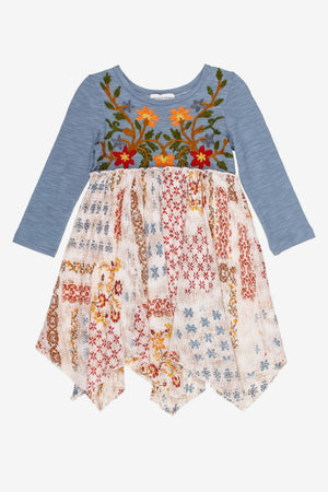 Mimi & Maggie Little Canyon Handkerchief Dress