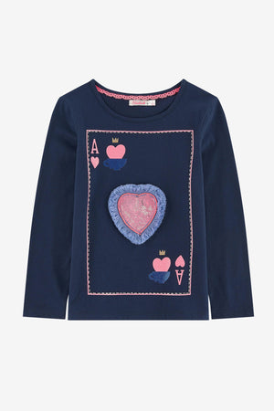 Billieblush Ace of Hearts Top