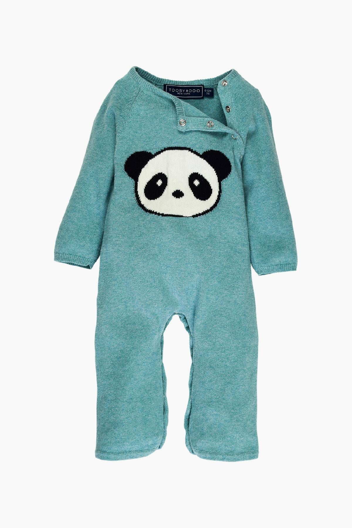 Toobydoo Cashmere Panda Jumpsuit - Green