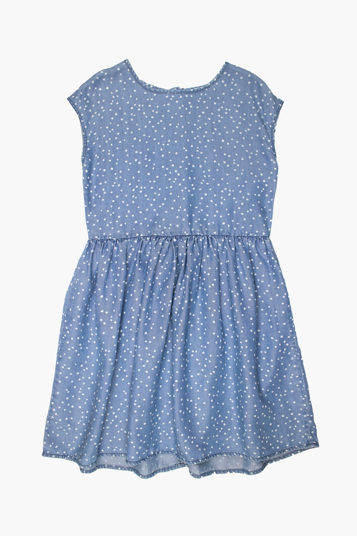 Splendid Chambray Dot Girls Dress