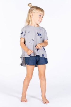OMAMImini Chambray Shorts