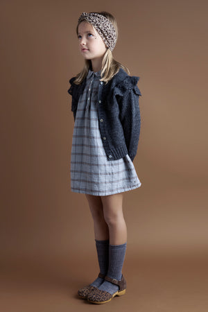 Tocoto Vintage Checkered Girls Dress