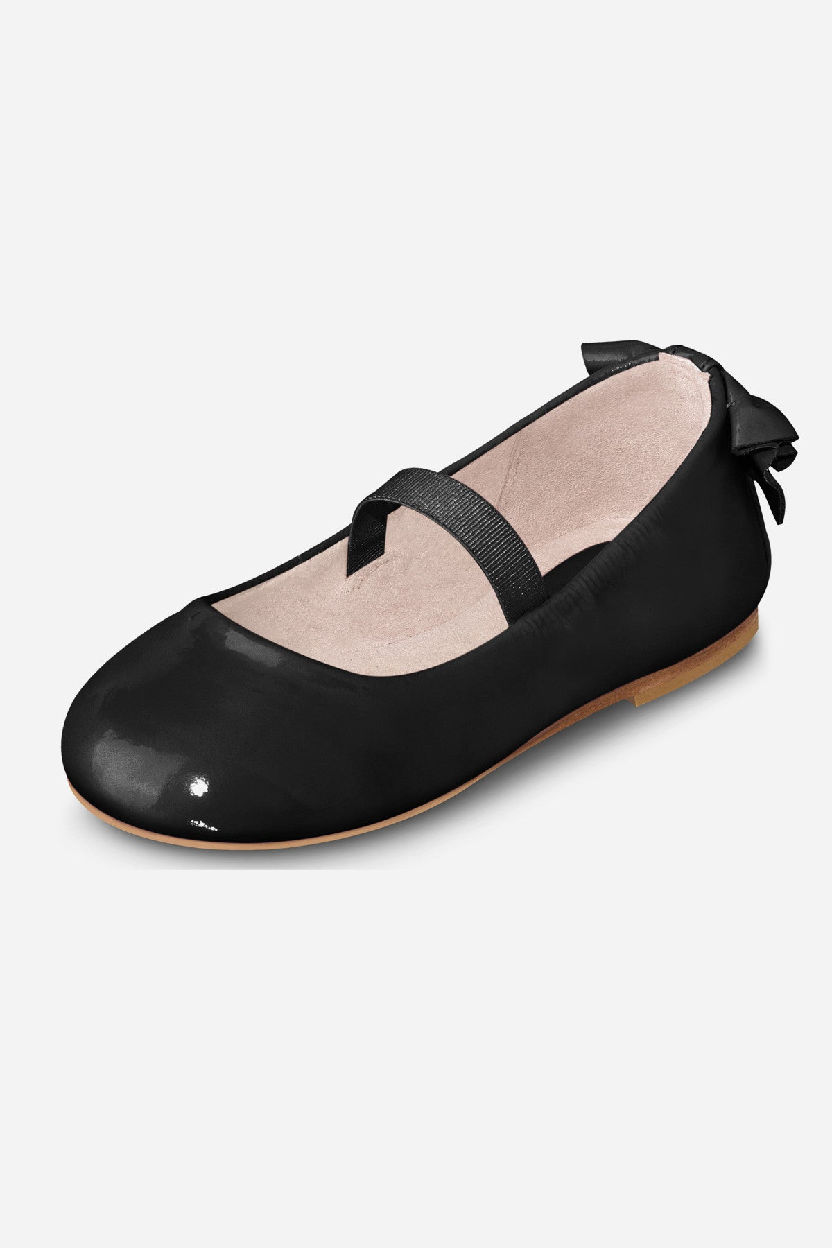 Bloch Black Patent Ballerina Girls Shoes - Toddler
