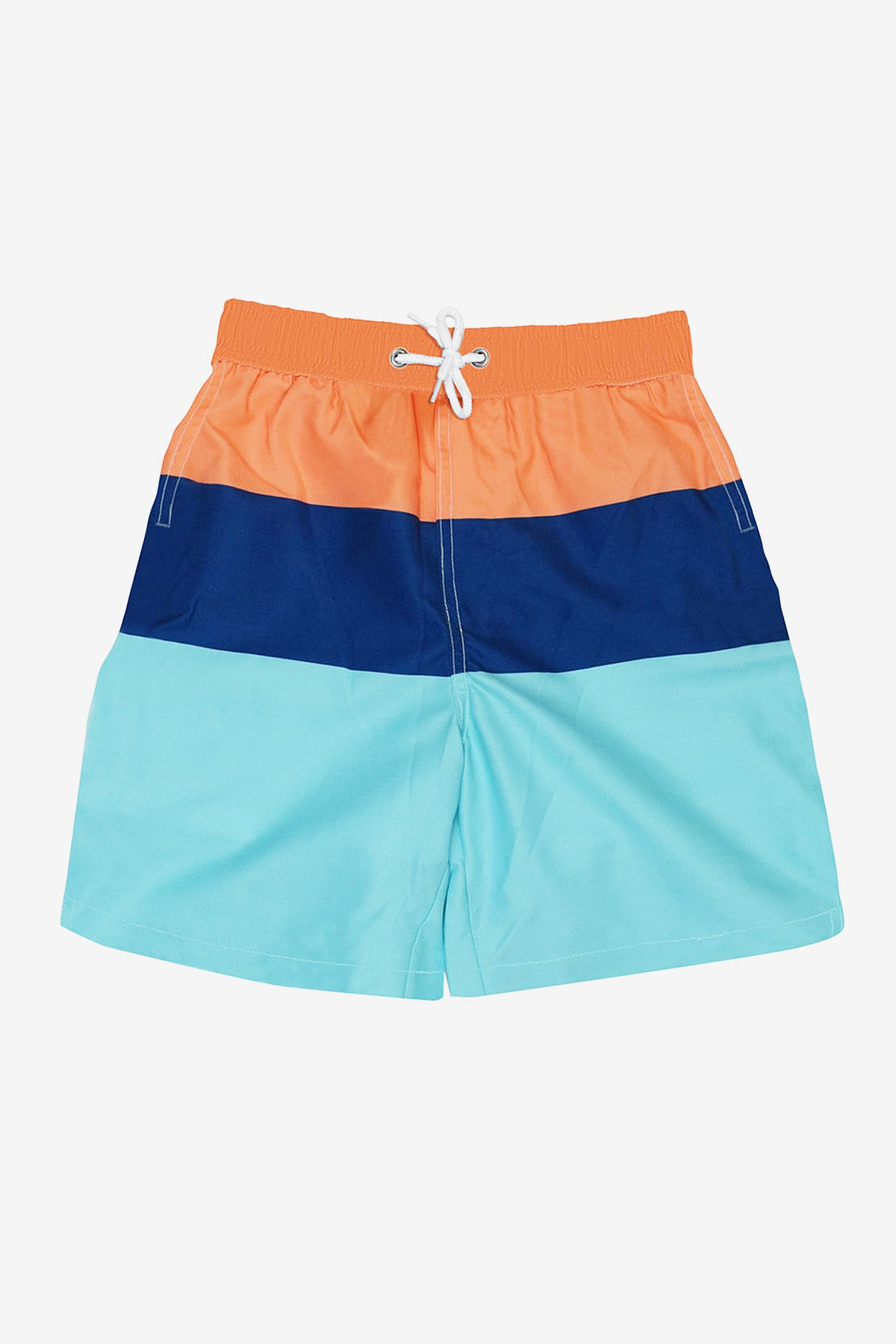 Toobydoo Colorblock Swim Board Shorts