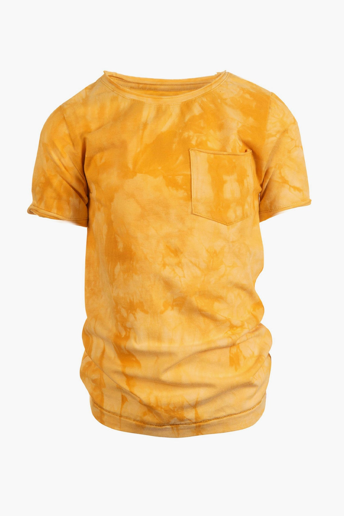 Appaman Concert Boys Shirt - Lemon Tie Dye