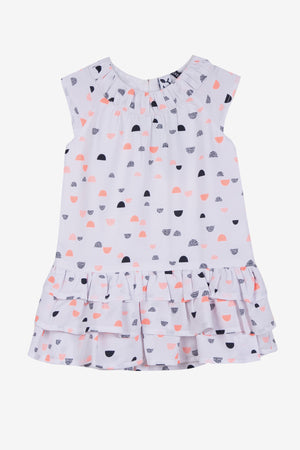 3pommes Baby Girl Coral Dress
