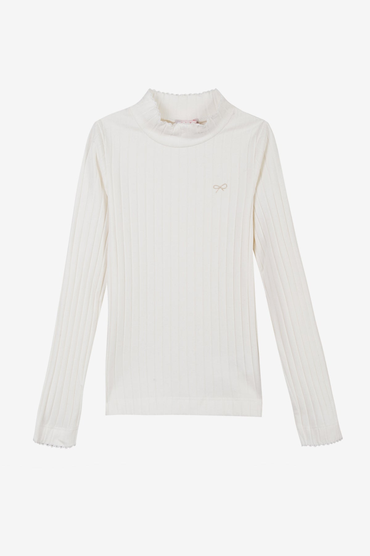 Lili Gaufrette Turtleneck - Cream