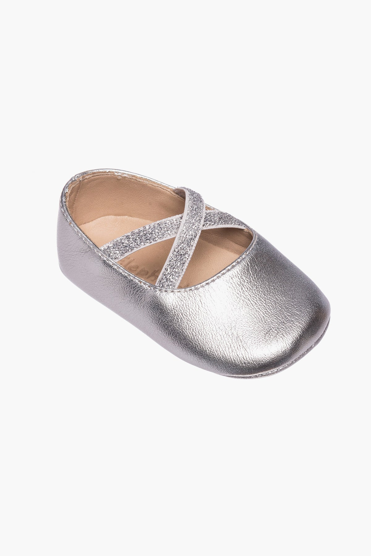 Elephantito Crossed Ballerina Baby Shoes