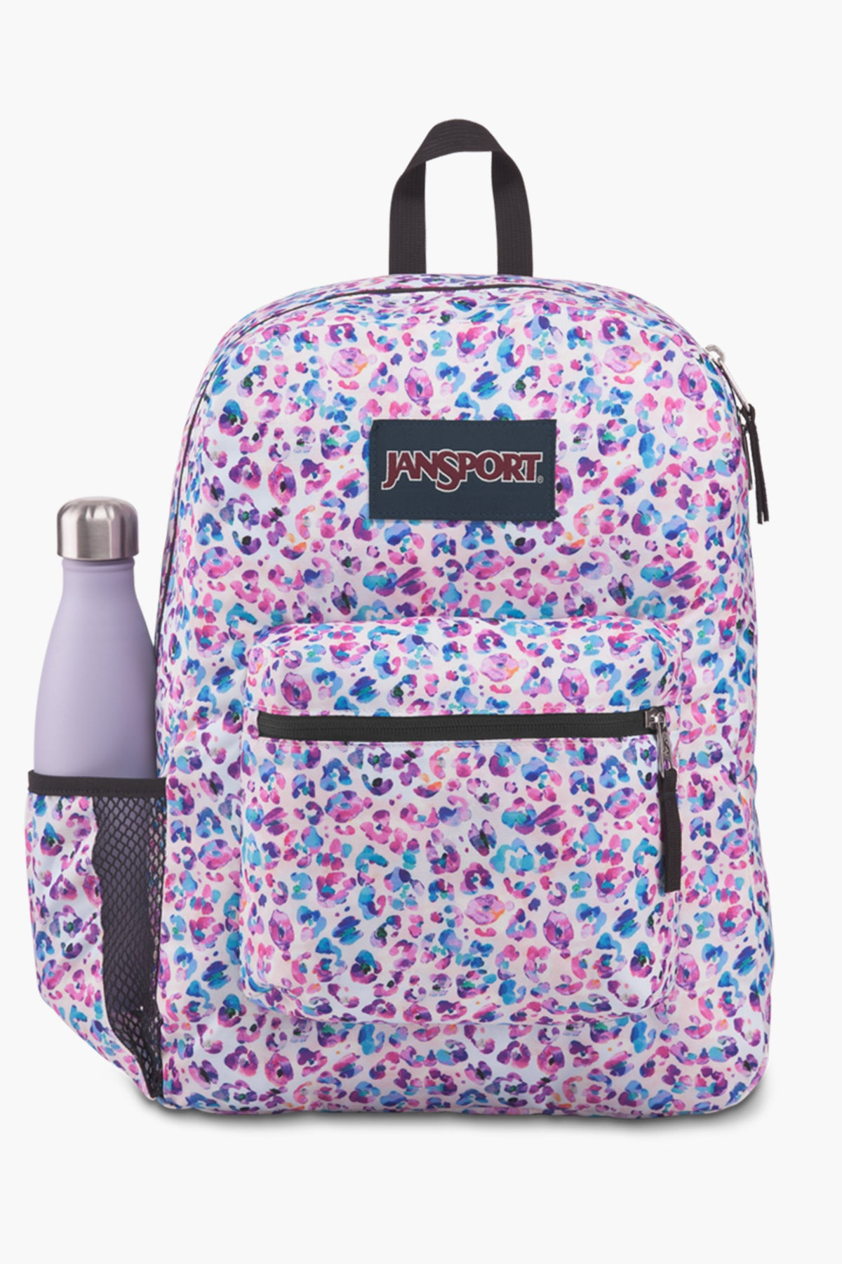 JanSport Cross Town Kids Backpack - Leopard Dots