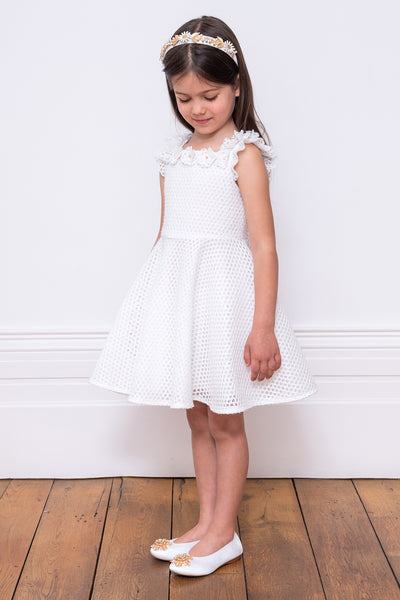 David Charles Daisy Girls Dress