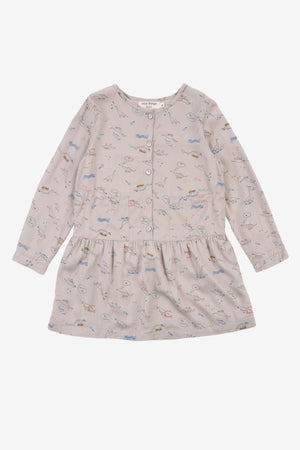 Nice Things Mini Dinosaur School Dress
