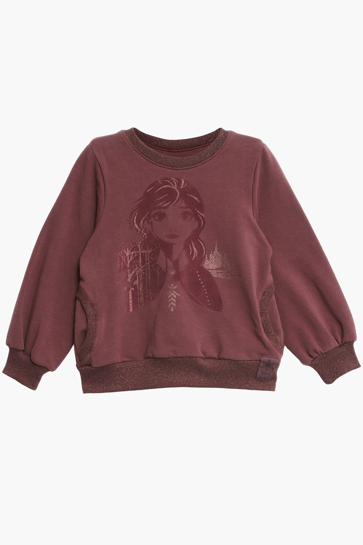 Wheat Disney Frozen Anna Girls Sweatshirt