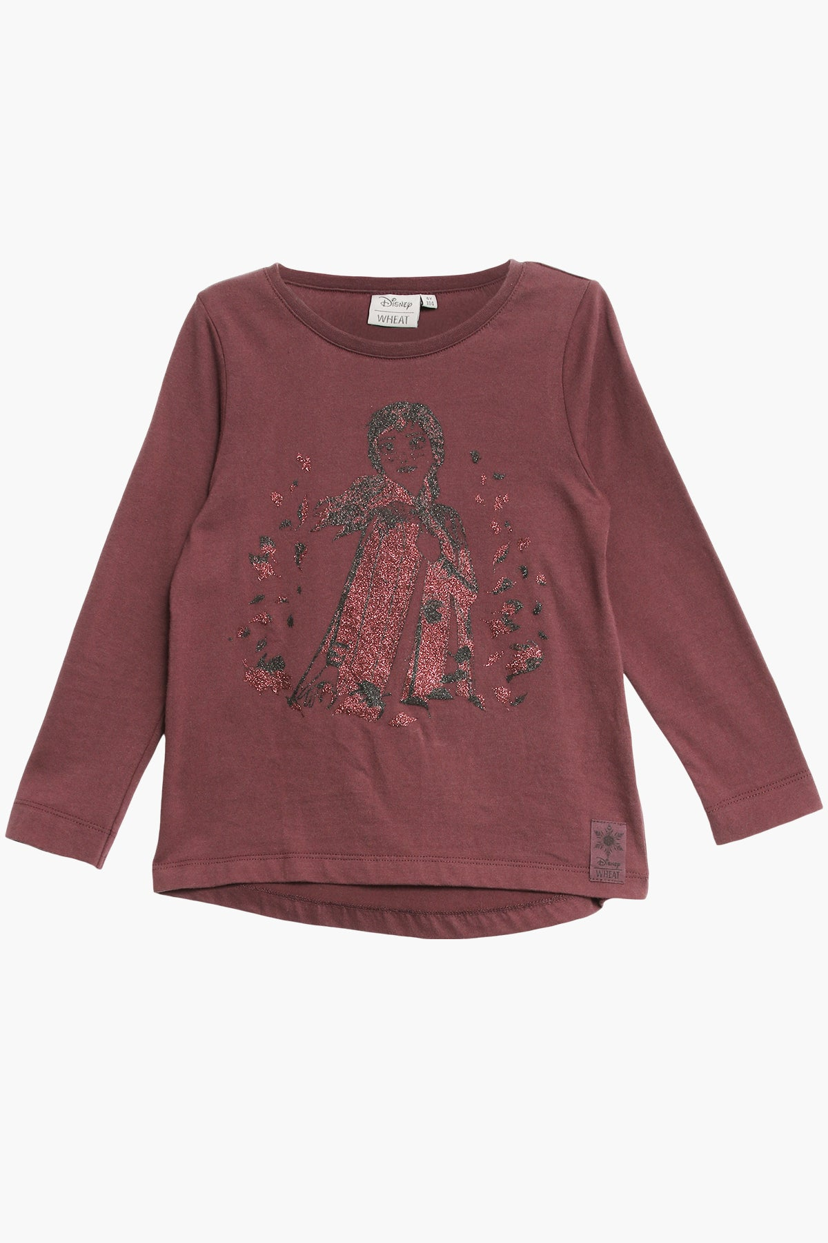 Wheat Disney Frozen Anna Girls T-Shirt
