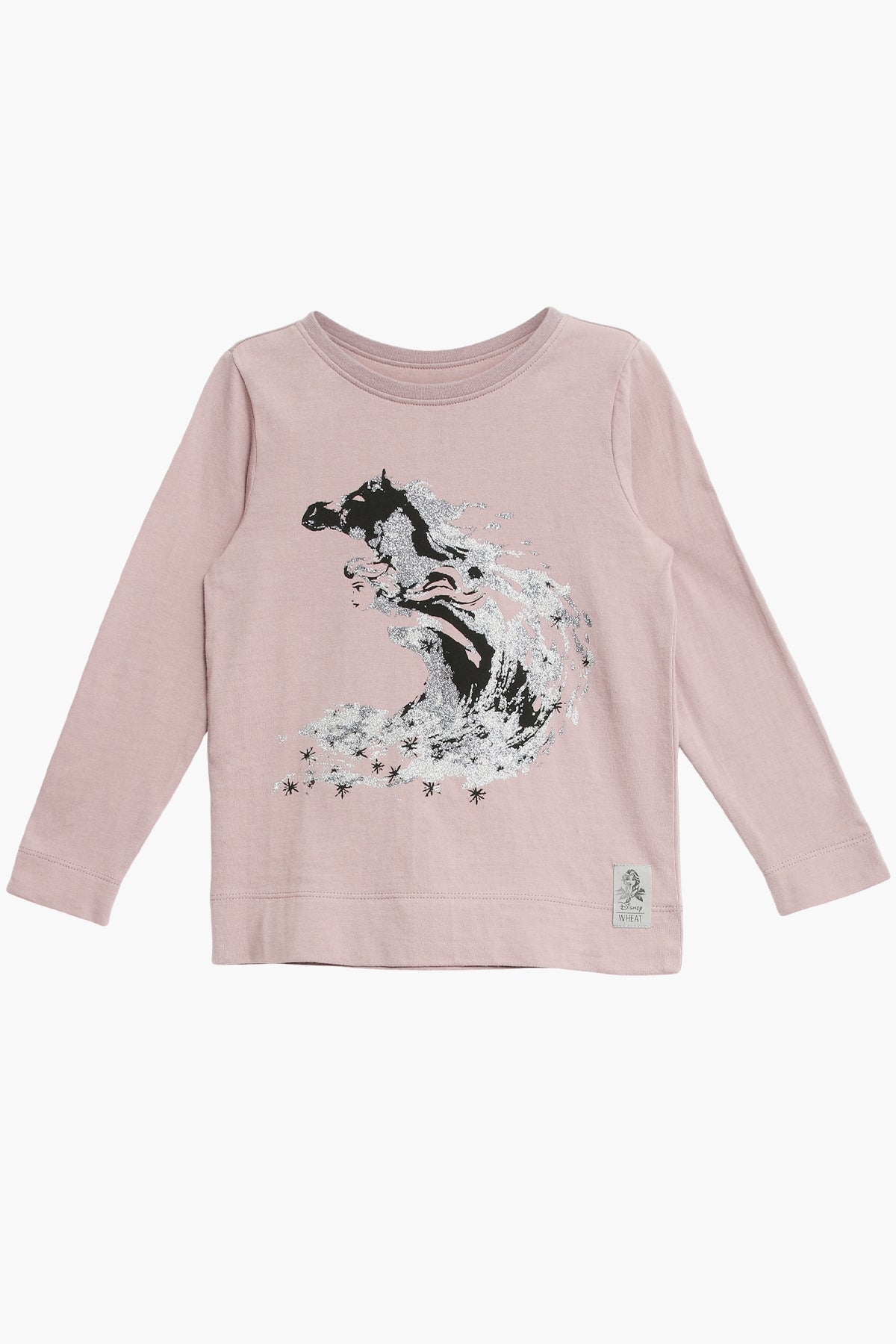 Wheat Disney Frozen Elsa Girls Shirt