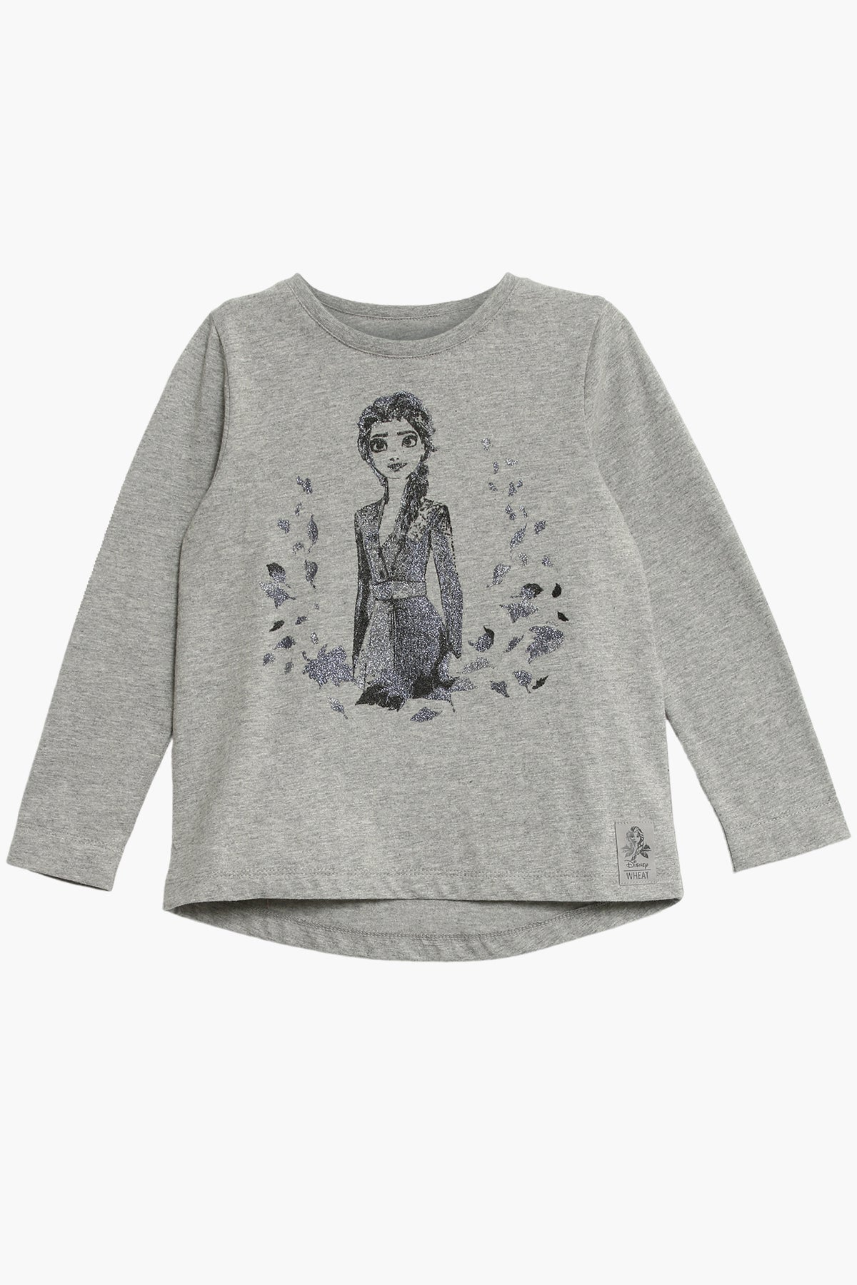 Wheat Disney Frozen Elsa Girls T-Shirt
