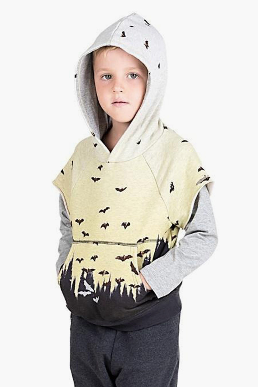 Paper Wings Dusk Flight Hoodie