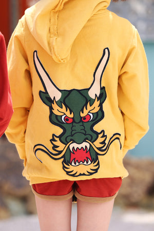Wee Monster Dragon Zip Boys Hoodie Sweatshirt