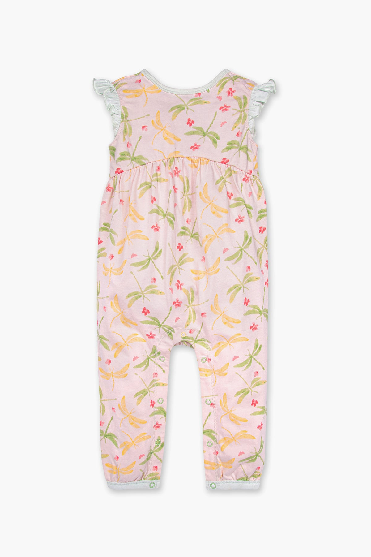 Burt's Bees Dragonfly Baby Girls Jumpsuit